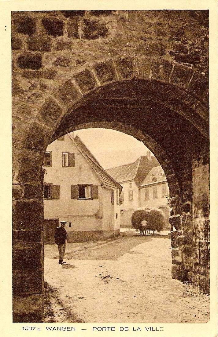 cartes postales - Cartes postales anciennes de Wangen Serie210