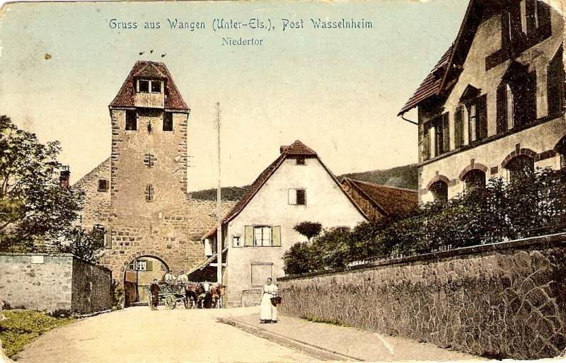 cartes postales - Cartes postales anciennes de Wangen Serie_14