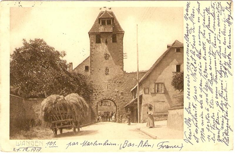 cartes postales - Cartes postales anciennes de Wangen Serie_15