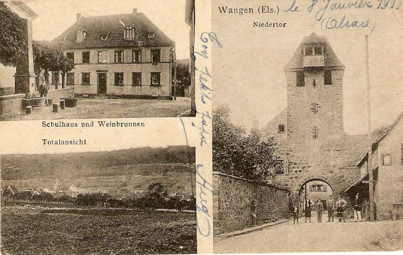 cartes postales - Cartes postales anciennes de Wangen Serie_16