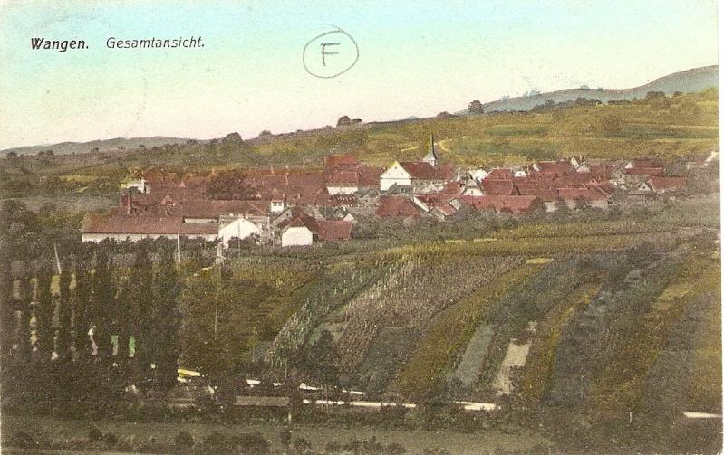 cartes postales - Cartes postales anciennes de Wangen Serie_17
