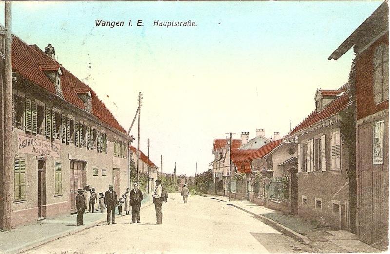 cartes postales - Cartes postales anciennes de Wangen Serie_19