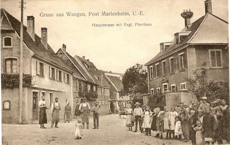 cartes postales - Cartes postales anciennes de Wangen Serie_20