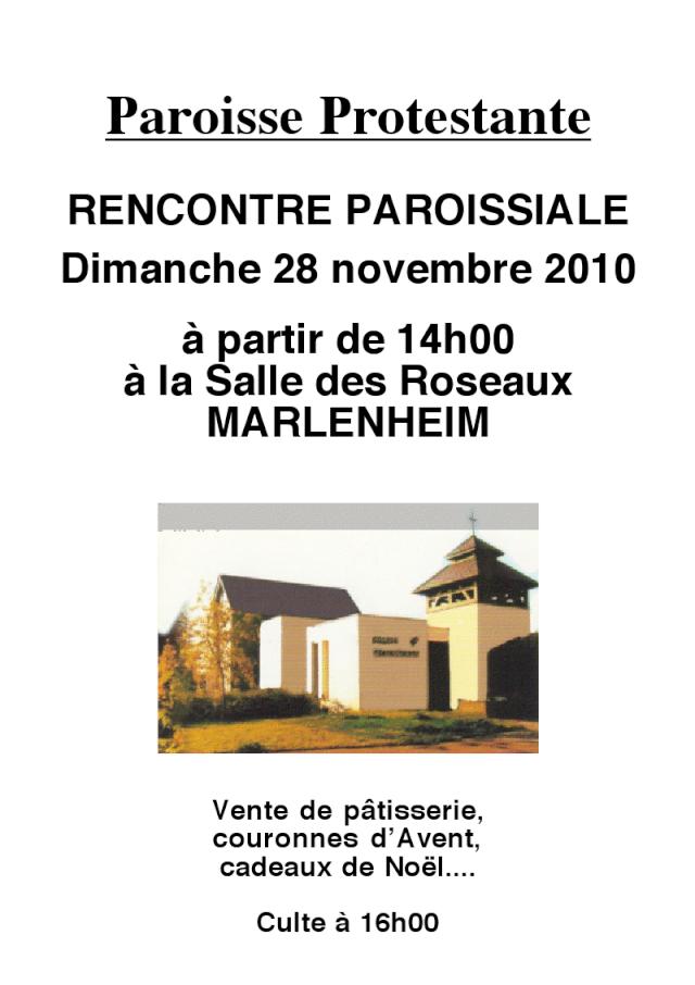 Fête du Premier Avent le dimanche 28 novembre 2010 à Marlenheim Viewer11