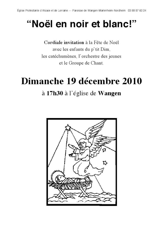 Fête de Noël du dimanche 19 décembre 2010 à 17h30 à l'église de Wangen Viewer15