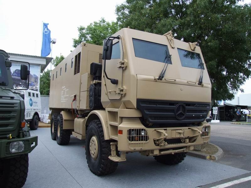 بعض انواع الشاحنات التى تعاقدت عليها الجزائر من شركة  EMPL المانيا  Actros10