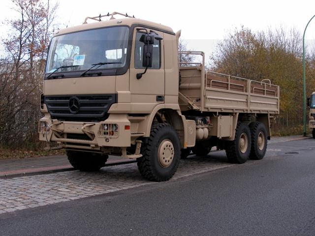بعض انواع الشاحنات التى تعاقدت عليها الجزائر من شركة  EMPL المانيا  Actros12