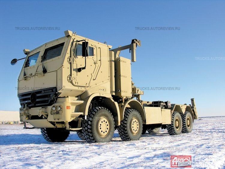 بعض انواع الشاحنات التى تعاقدت عليها الجزائر من شركة  EMPL المانيا  Actros13