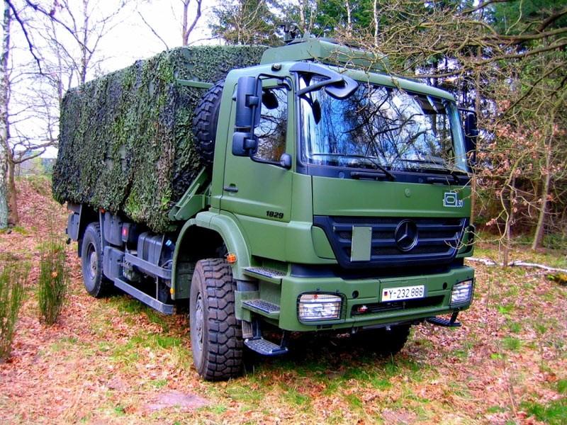 بعض انواع الشاحنات التى تعاقدت عليها الجزائر من شركة  EMPL المانيا  Axor_211