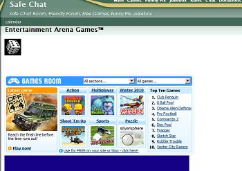Website screen dumps as times gone by Gamear10