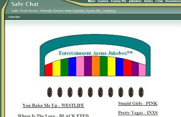 Website screen dumps as times gone by Jukebo10