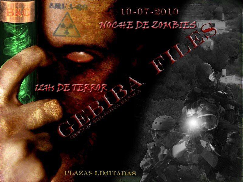 """GEGIBA FILES """" NOCHE DE ZOMBIES """" Zombie13"""