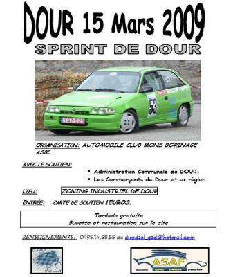 [Sprint de Dour] 15 Mars 2009 infos, engagés...... Sp-dou10
