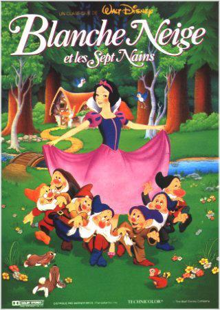 Blanche-Neige et les 7 nains (Snow White and the seven dwarfs) Affich10