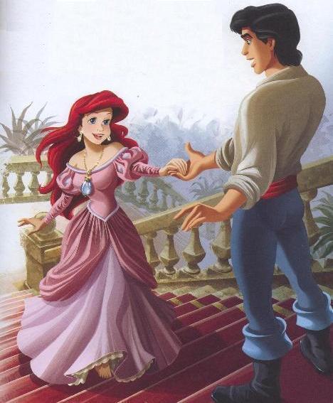 Déssins sur La Petite Sirène de The Little Mermaid !!! Ariel-55