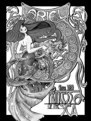 Déssins sur La Petite Sirène de The Little Mermaid !!! Ariel-57