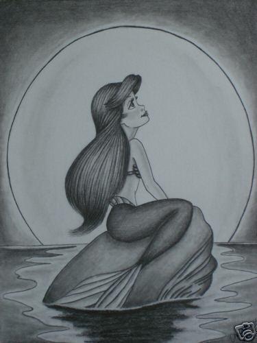 Déssins sur La Petite Sirène de The Little Mermaid !!! Ariel-61