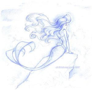Déssins sur La Petite Sirène de The Little Mermaid !!! Ariel-63