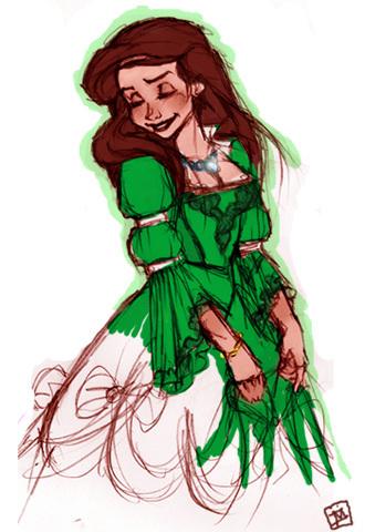 Déssins sur La Petite Sirène de The Little Mermaid !!! Ariel-64