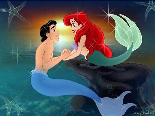 Déssins sur La Petite Sirène de The Little Mermaid !!! Ariel-66