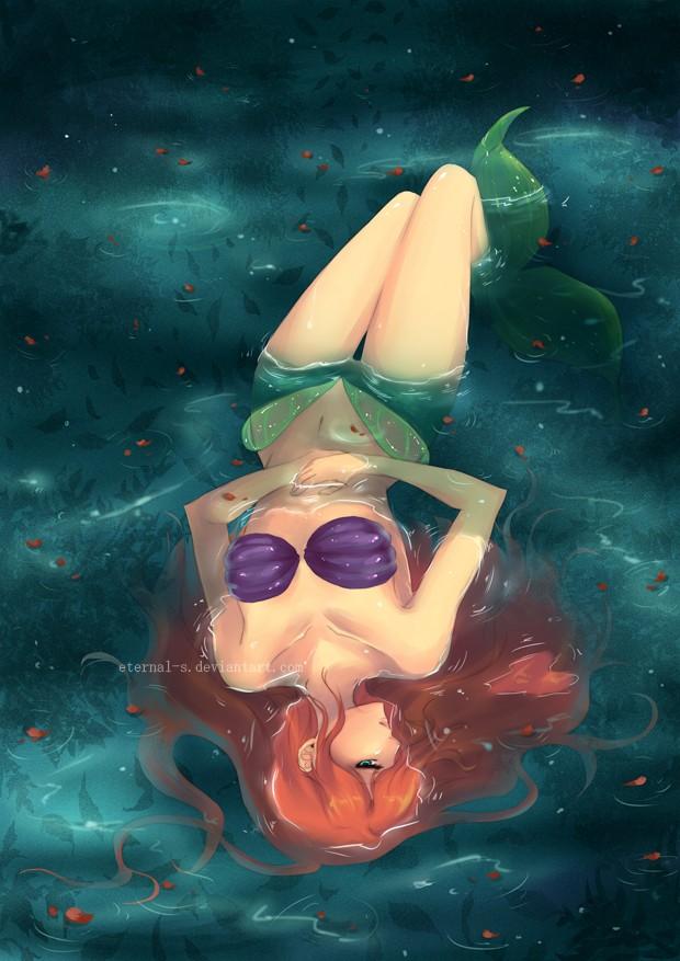 Déssins sur La Petite Sirène de The Little Mermaid !!! Ariel-71