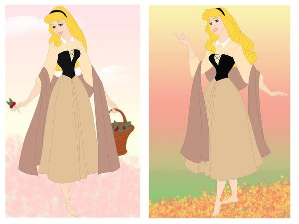 Dessins sur Sleeping Beauty (La Belle Au Bois Dormant) Aurora32