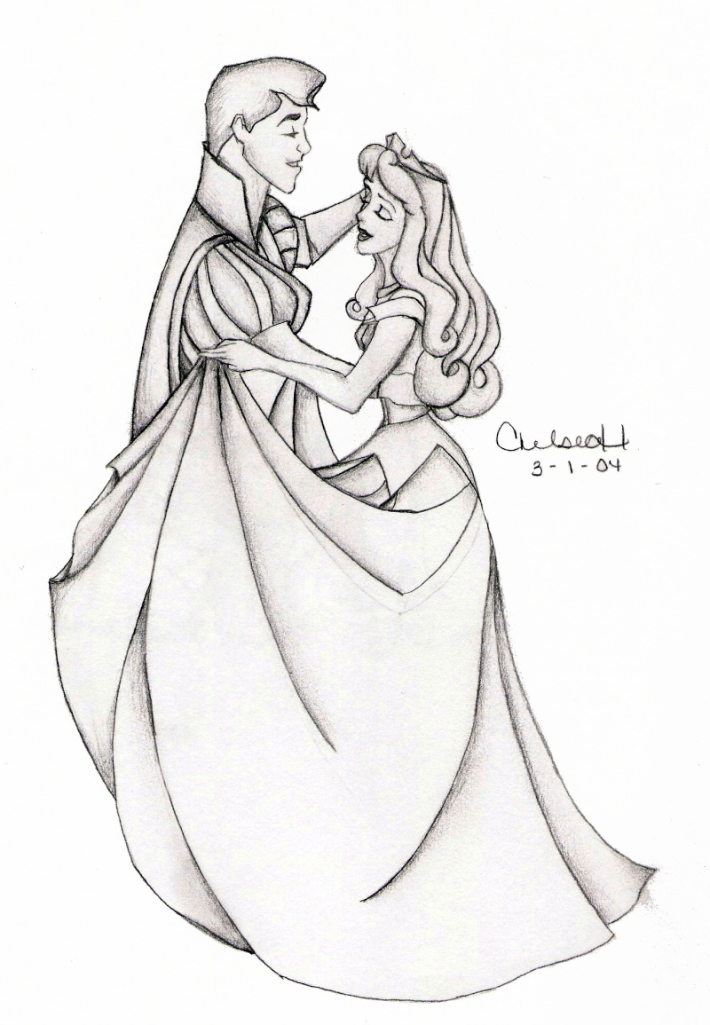 Dessins sur Sleeping Beauty (La Belle Au Bois Dormant) Aurora35