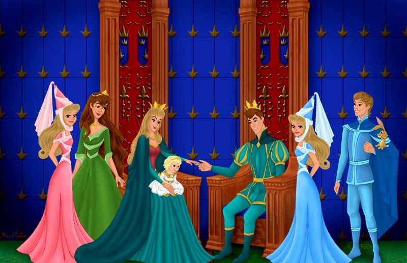 Dessins sur Sleeping Beauty (La Belle Au Bois Dormant) Aurora40