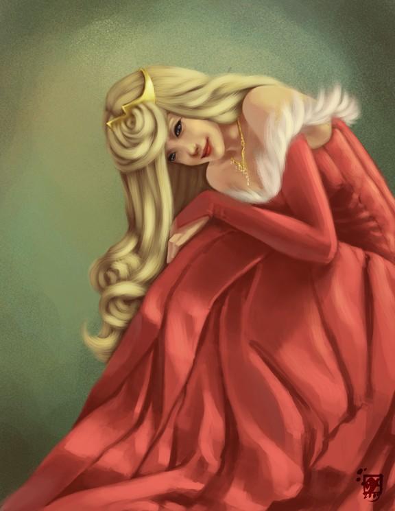 Dessins sur Sleeping Beauty (La Belle Au Bois Dormant) Aurora42