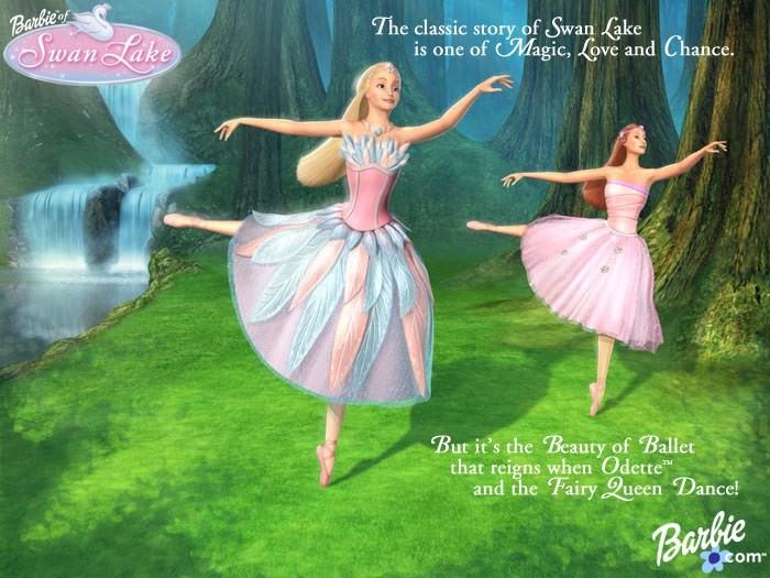 Barbie Lac des Cygnes Barbie23