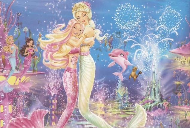 Barbie in a Mermaid Tale ( c'est le titre en anglais) Barbie51