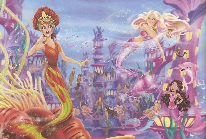 Barbie in a Mermaid Tale ( c'est le titre en anglais) Barbie58