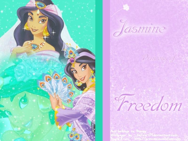 Wallpapers sur la Princesse Jasmine et Aladdin (Aladdin) Disne145