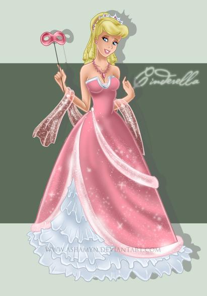Fan-Arts sur Cendrillon (Cinderella) Masque11