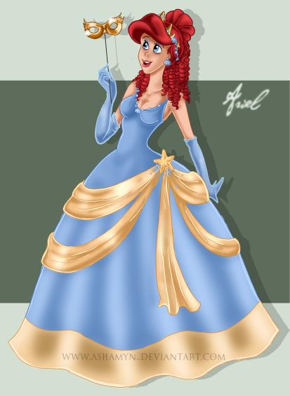 Déssins sur La Petite Sirène de The Little Mermaid !!! Masque13