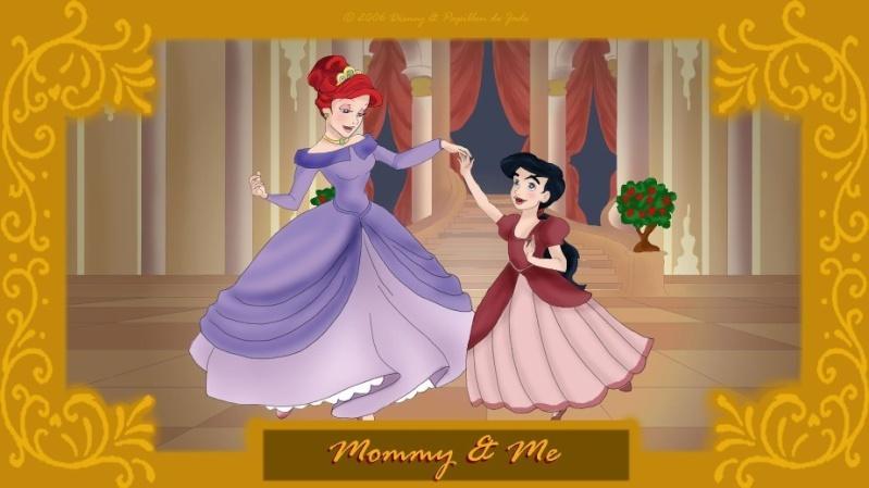 Déssins sur La Petite Sirène de The Little Mermaid !!! Mommy-10