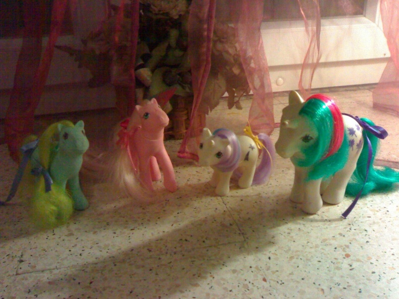 Ma collection Mon Petit Poney G1 puis G5 Mornin10