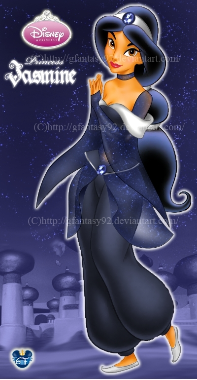 Fan-Arts sur la Princesse Jasmine avec Aladdin (Aladdin) Princ107