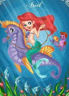 Déssins sur La Petite Sirène de The Little Mermaid !!! Prince94