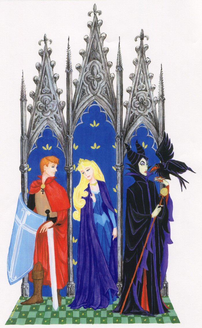 Dessins sur Sleeping Beauty (La Belle Au Bois Dormant) Sleep134