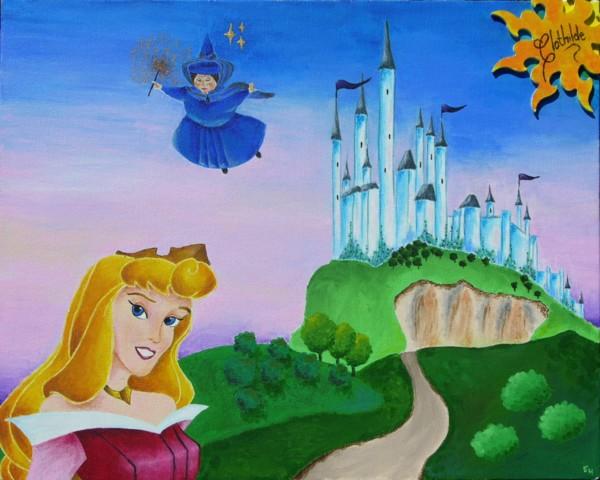 Dessins sur Sleeping Beauty (La Belle Au Bois Dormant) Sleep169