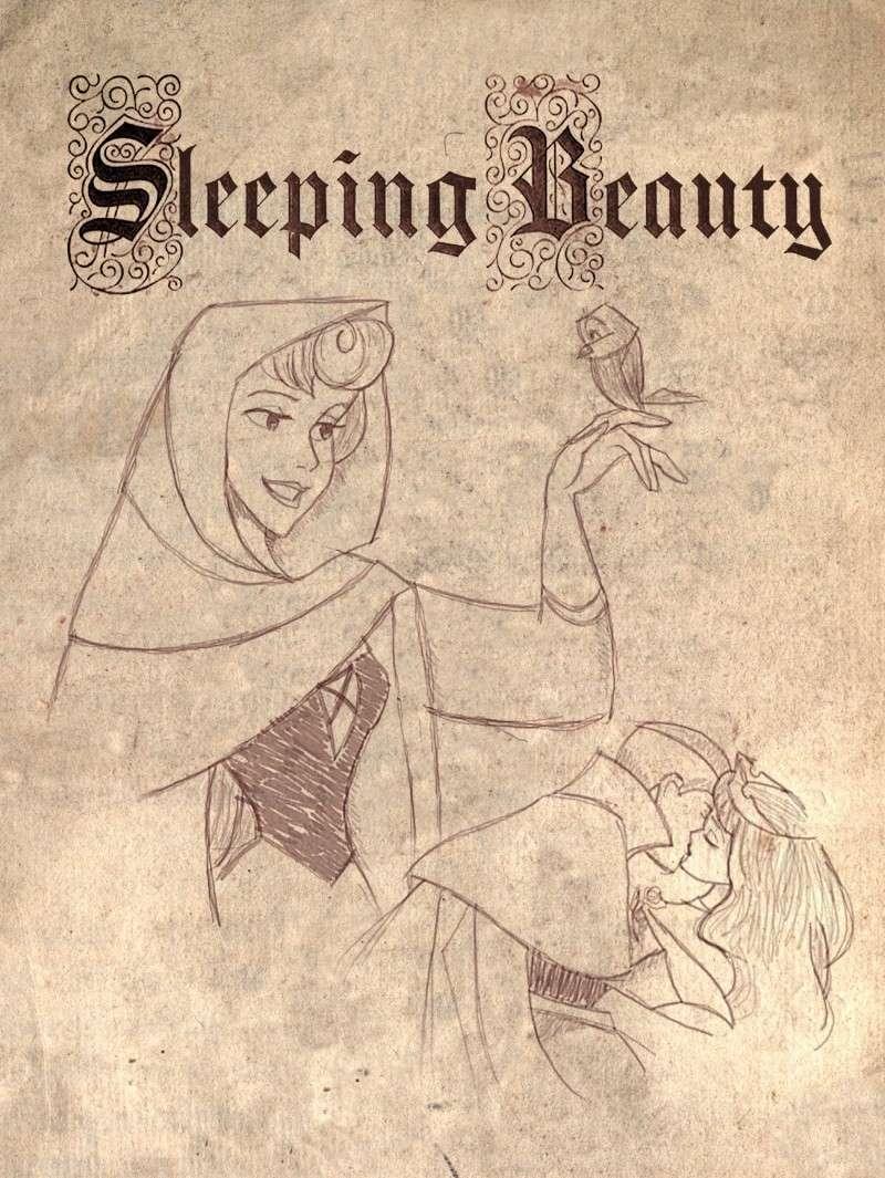 Dessins sur Sleeping Beauty (La Belle Au Bois Dormant) Sleep181