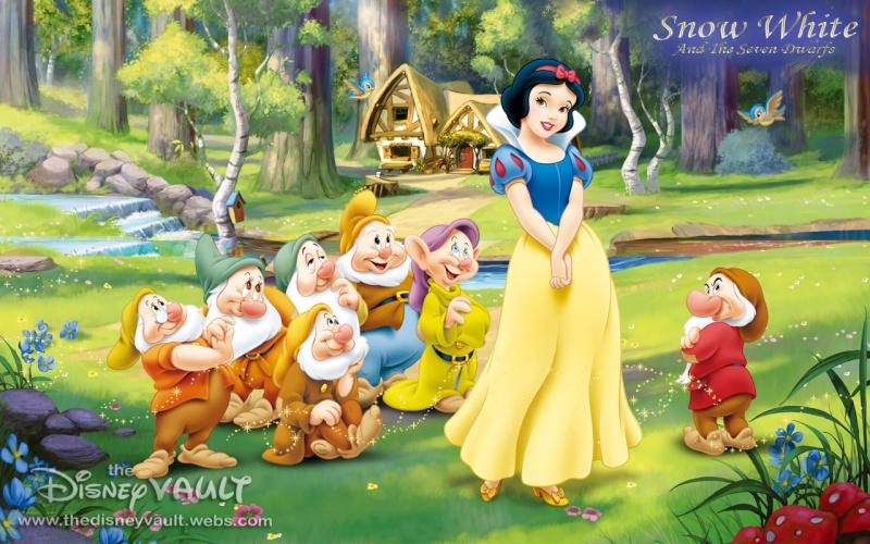 Blanche-Neige et les 7 nains (Snow White and the seven dwarfs) Snow-w37