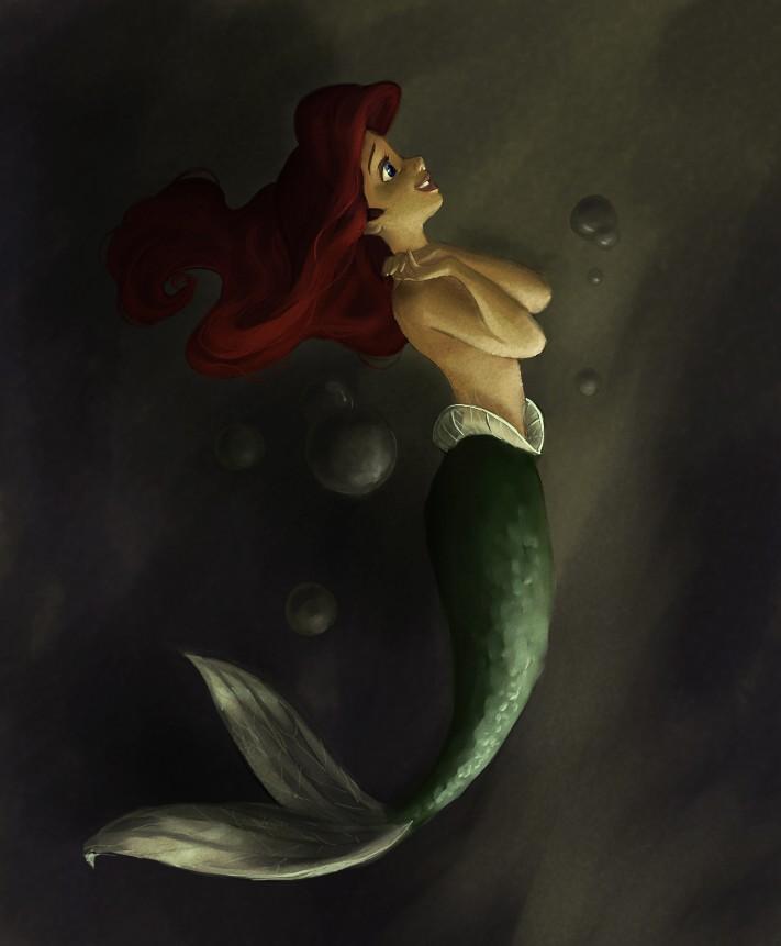 Déssins sur La Petite Sirène de The Little Mermaid !!! That_d10