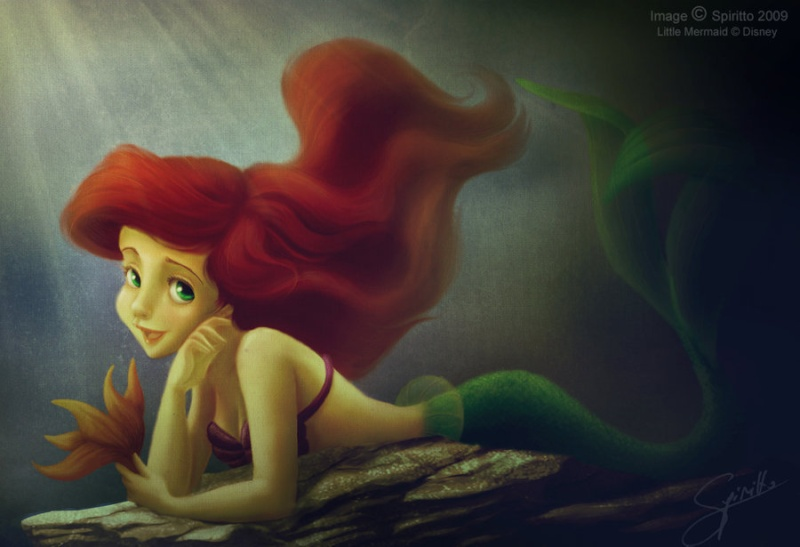Déssins sur La Petite Sirène de The Little Mermaid !!! The-li35