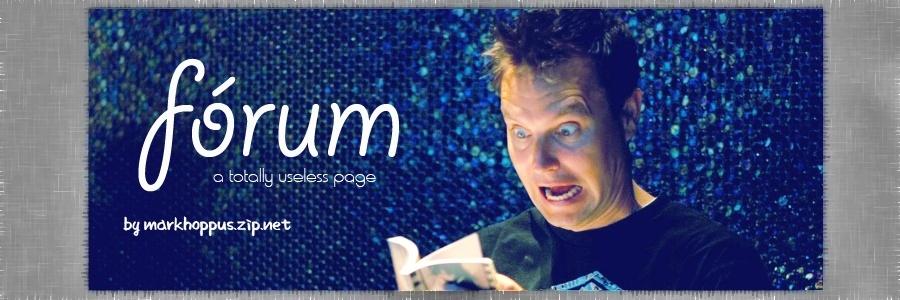 Mark Hoppus Forum