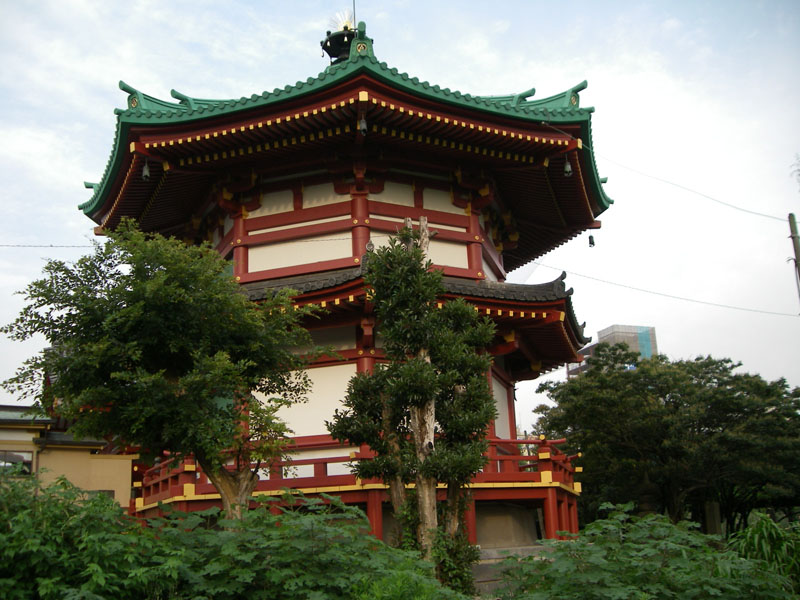 TOKYO / TOKYO 3D / JAPON / VISITE VIRTUELLE Benten10