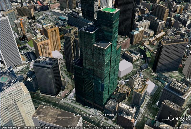 TOKYO / TOKYO 3D / JAPON / VISITE VIRTUELLE Buidin10