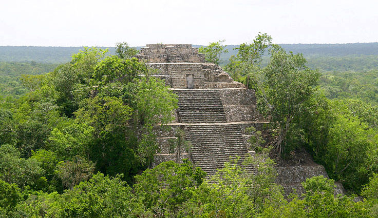 Mayas - Tikal Calakmul Palenque - Maya Yucatan Mexique Calakm10