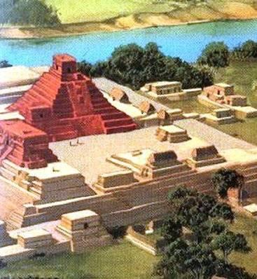 Mayas - Tikal Calakmul Palenque - Maya Yucatan Mexique Calakm12